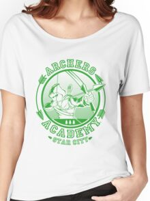 ARCHERS ACADEMY Women's Relaxed Fit T-Shirt