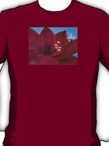 "Fine art. Painting. Oil. Flower ""Life PASSION"" T-Shirt"