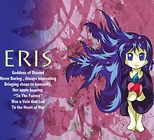 Chibi Eris - Greek Gods, Blue Series by Kita Parnell