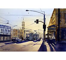 Morning Coffee, Richmond, Victoria Photographic Print