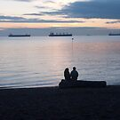 A quiet moment, Vancouver, Canada, 2007 by Chris Culy