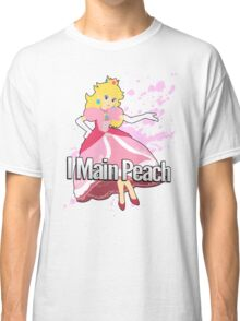 I Main Peach - Super Smash Bros. Classic T-Shirt