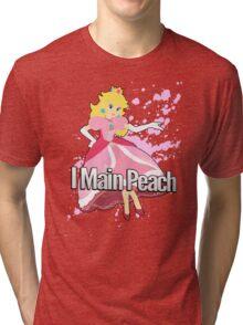 I Main Peach - Super Smash Bros. Tri-blend T-Shirt