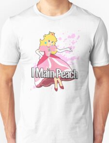 I Main Peach - Super Smash Bros. Unisex T-Shirt