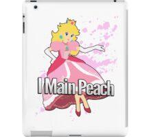 I Main Peach - Super Smash Bros. iPad Case/Skin