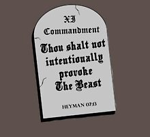 Thou Shall Not Intentionally Provoke The Beast Unisex T-Shirt
