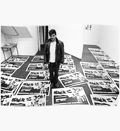 Nick Tsoutas at Art Unit Poster