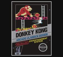 DONKEY KONG NES Box cover by ruter