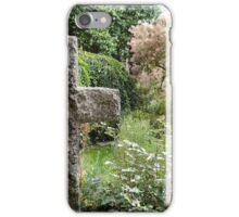 Cloister Garden, Bristol Cathedral iPhone Case/Skin