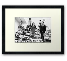 The All Out Ensemble at Art Unit Framed Print