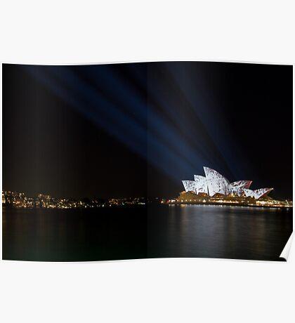 Vivid Sydney Light Festival Poster