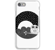Whoot Owl - Circle Design iPhone Case/Skin