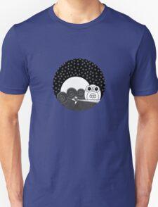 Whoot Owl - Circle Design Unisex T-Shirt