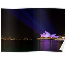 Vivid Sydney Light Festival - Emotion Poster