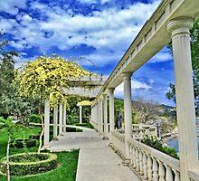 The walk in spring park by kindangel