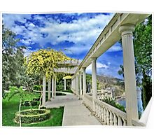 The walk in spring park Poster