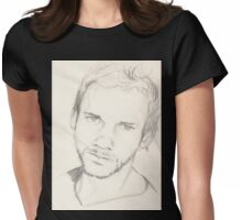 Dominic Monaghan Womens Fitted T-Shirt