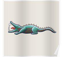 Crocodile appetite Poster
