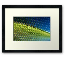 Colourful Carbon Framed Print