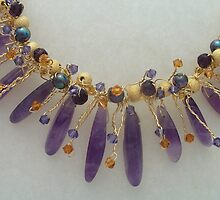 Amethyst Necklace by Erica Long