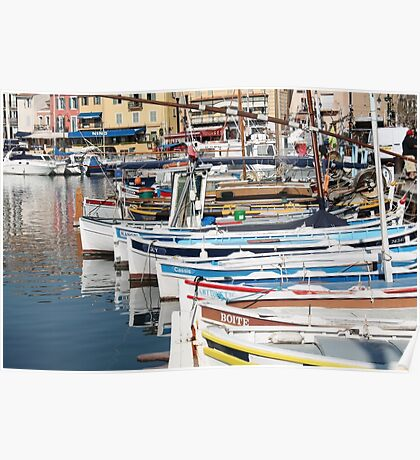 Provence Harbour Poster