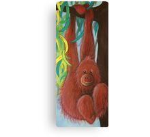 Orangutan - Day 6 - 'Creation' Mural Canvas Print