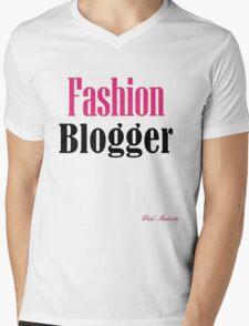 FASHION BLOGGER Mens V-Neck T-Shirt
