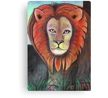 Lion - Day 6 - 'Creation' Mural Canvas Print