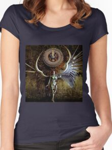 The Last Shadow Of Time Women's Fitted Scoop T-Shirt