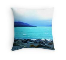 A Storm in the horizon! Throw Pillow