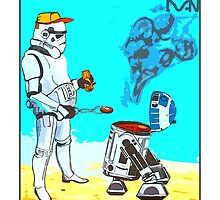 Stormtrooper griddle! by Tim Constable