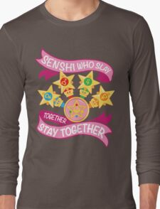 Slay Together, Stay Together - Sailor Scouts Clean Long Sleeve T-Shirt