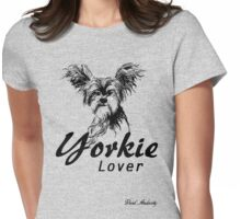 YORKIE LOVER Womens Fitted T-Shirt