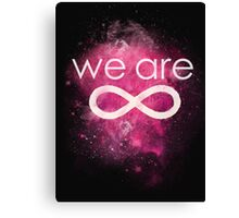 we are  Canvas Print