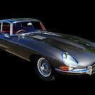 Jaguar E type 1962 by Paul Gilbert