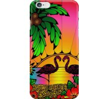 Flamingo Love  iPhone Case/Skin