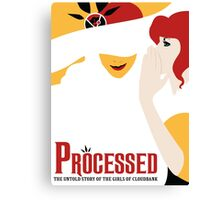 Processed - A Transistor & Wicked Mash Up Canvas Print