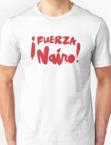 Fuerza Nairo Quintana : v2 - Red Script T-Shirt