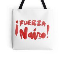 Fuerza Nairo Quintana : v2 - Red Script Tote Bag