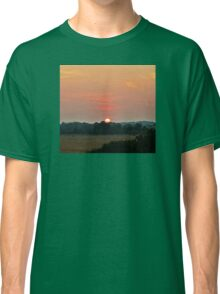 sunset golf Classic T-Shirt