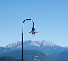 Mountain light,  Bolzano-Bozen, Italy, 2008 by Chris Culy