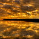Golden Rhapsody - Narrabeen Lakes,Sydney - The HDR Experience by Philip Johnson