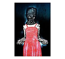 Stealthy street artist! Photographic Print