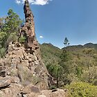 The Breadknife, Warrumbungle Mountains by Paul Bech