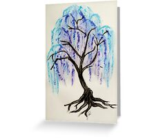 The Sleeping Willow Greeting Card