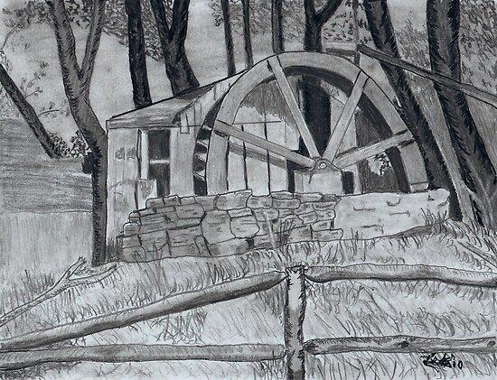 waterwheel by snowhawk