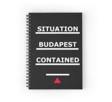 SAMARITAN of Interest BUDAPEST CONTAINED V2 Spiral Notebook