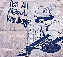 It's all about knowledge by TimConstable