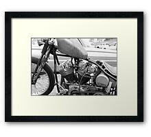 Bobber Framed Print