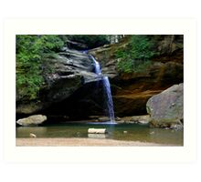 Water from the Hills Art Print